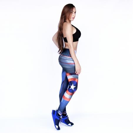 SH18 Captain America Leggings