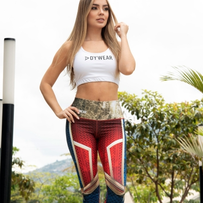 SH19 Capitana Marvel Leggings