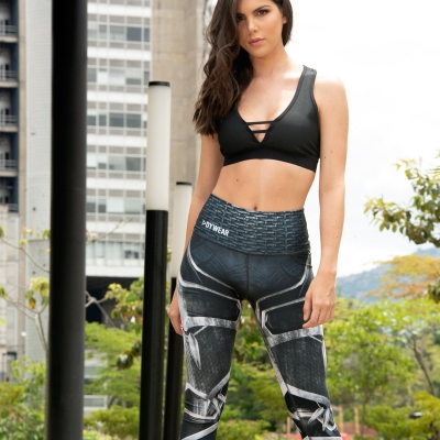 SH19 Pantera Negra Leggings